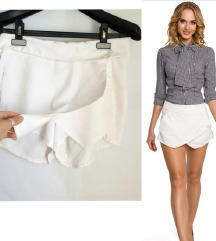 Bijele suknja - hlacice 🎀
