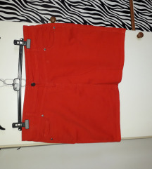 Suknja od trapera