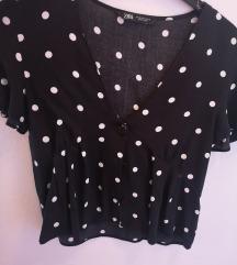 Zara ljetna košuljica sa točkicama