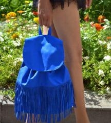 Tezenis plavi ruksak sa resama