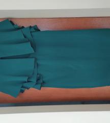 zelena haljina 42