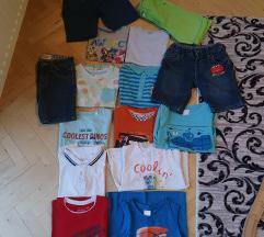 Lot ljetne markirane odjeće za dečke