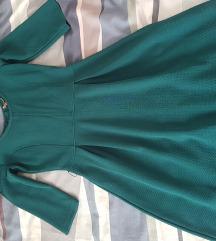 Slatka zelena haljina