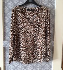 Zara leopard košulja bluza