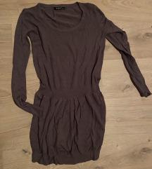Zimska smeđa haljina