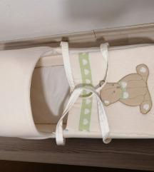 košara nosiljka gnijezdo za bebe