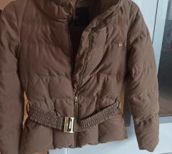 Zara smeđa zimska jakna