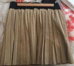 Zara plisirana suknja do koljena