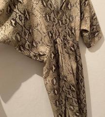 Zara zmijska haljina S
