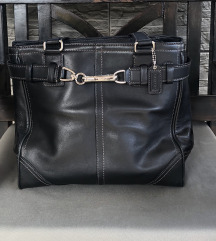 COACH  crna kožna torba