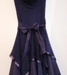 Prekrasna ljubicasta haljina