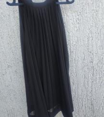 Crna plisirana haljina PRODAJA/ZAMJENA