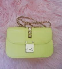 Limun žuta gumena torbica