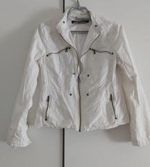 Bijela casual jakna