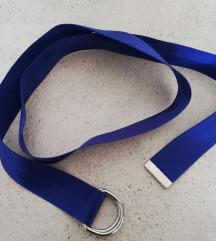 H&M kraljevsko plavi remen