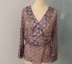 Anthropologie svila/kimono kosulja(M)