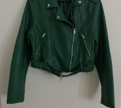 BERSHKA kratka kožna jakna