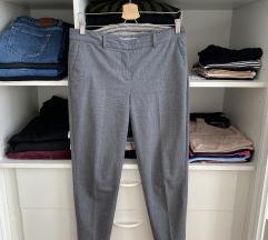 Mango Suit hlače na crtu