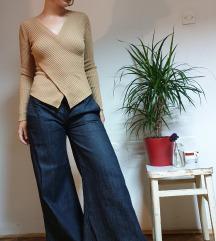 Wide leg jeans hlače