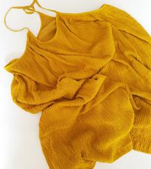 MANGO krep haljina