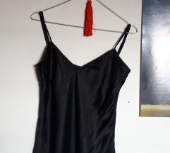 Crni top 100% svila