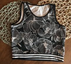 Esmara crni ljetni crop top/majica (M)