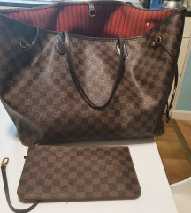 Rezervirana-LOUIS VUITTON NEVERFULL GM ORIGINAL