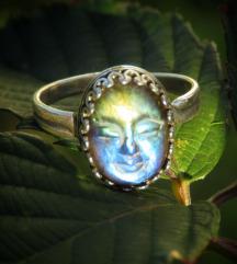 Labradorit prsten