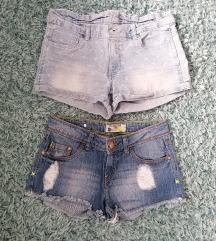 Kratke jeans hlače xs i 170