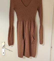 Šljokičasta brončana haljina%%%