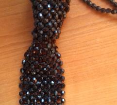 Ogrlica kravata od perlica
