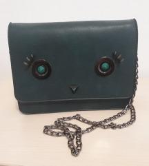 Tamno zelena torbica