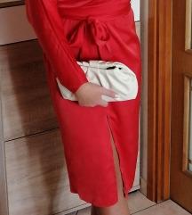 Asos crvena svecana haljina