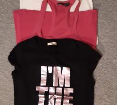 Tri majice M vel za 45kn