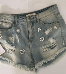 jeans šorc