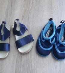 Lot sandale i papuče za kupanje, vel. 23