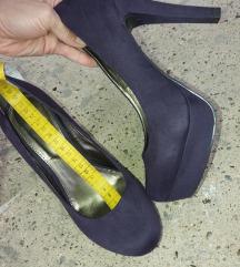 Ljubičaste cipele na petu br 37