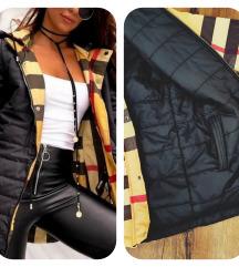 Nova jakna sa 2 lica , topla , divna s etiketom😍