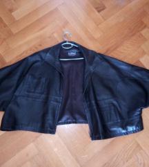 kožna jakna oversized