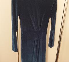 Barsunasta haljina sa srebrnim nitima