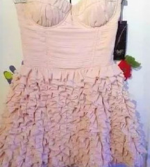 LIPSY VIP preeee haljina OYSTER PINK 38