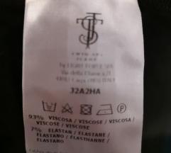 TWIN-SET tanka crna haljina xs/