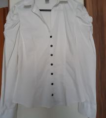 H&M bijela košulja na duge rukave