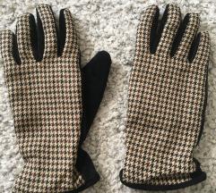 Predivne kožne kao nove rukavice vel S