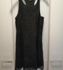 Cipksata crna haljina