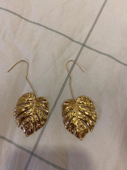 Zara zlatne naušnice