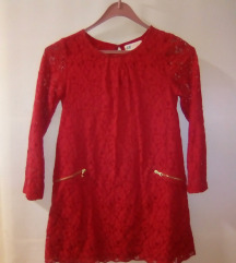 HM božićna crvena haljina