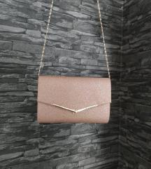 Ružičasta svečana torbica