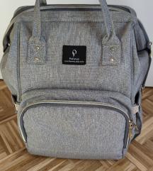 Siva torba za pelene