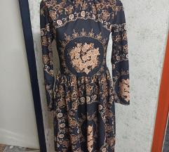 Strukirana šarena haljina